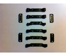 GT14 Hinge Pin Mounts ( Wide Set )