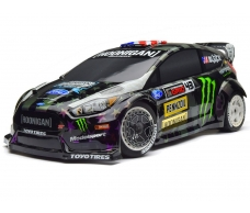 WR8 FLUX KEN BLOCK GYMKHANA FORD FIESTA ST RX43 ELECTRIC CAR
