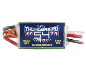 TB-54, 54A 15V BEC SPORT AIR BRUSHLESS ESC