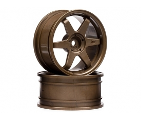 HPI3843 Te37 Wheel 26Mm Bronze (3Mm Off
