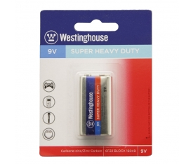 480 Adet Westinghouse 9v Heavy Duty