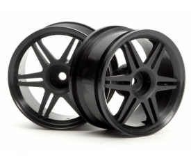 HPI3801 Corsa Wheel (26Mm Black)