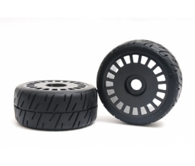 Rally X4 Tyre - Black Wheel Assy Xross Max Tyr