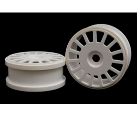 Wheel White 15 Spoke 180mm