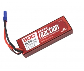Reaction HD 7.4V 5000mAh 50C 2S LiPo Batarya