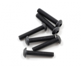 Traxxas 4x20mm Button Head Machine Screws (6)