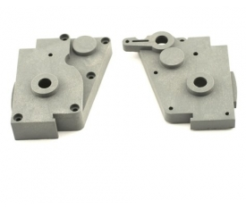 Traxxas Gear Box L/R Halves (Grey)