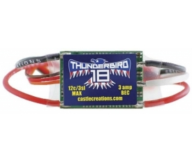TB-18, 18A 15V BEC SPORT AIR BRUSHLESS ESC
