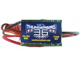 TB-36, 36A 15V BEC SPORT AIR BRUSHLESS ESC