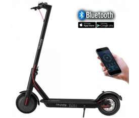 CityMate Plus 250Watt Elektrikli Scooter - Bluetooth - Siyah