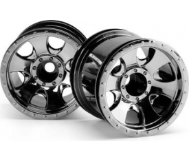 WARLOCK WHEEL BLACK CHROME (2.2İN/2PCS)