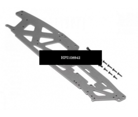 TVP CHASSIS (LEFT/GRAY/3MM)