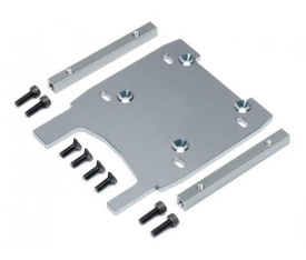 ENGINE PLATE (GRAY/4MM)