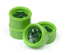 WORK MEISTER S1 WHEEL 17MM GREEN (4PCS)