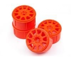 MICRO RALLY WHEEL 17MM ORANGE (4PCS) Mİ