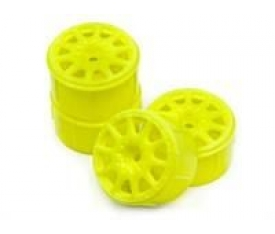 MICRO RALLY WHEEL 17MM YELLOW (4PCS) Mİ